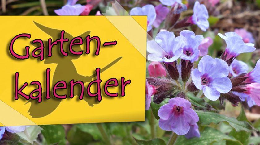Gartenkalender Einfach Selbstgehext